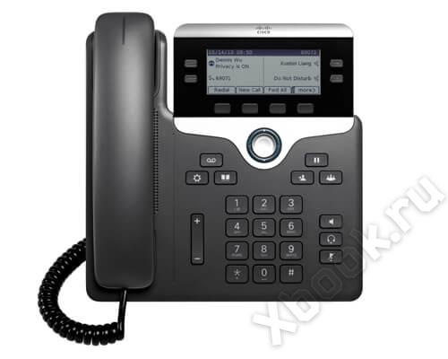 Cisco Systems CP-7841-K9= вид спереди